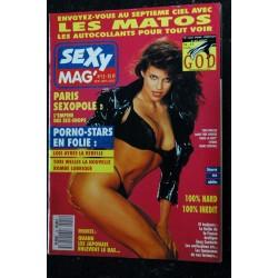 SEXY MAG' 12 COVER TORI WELLES LOIS AYRES JAPON PARIS SEXOPOLE PORNO-STARS EN FOLIE 1990