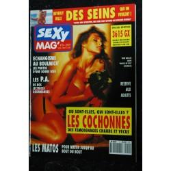 SEXY MAG' 13 COVER BARBARA DARE TORRI WELLES PARIS-SEXOPOLE 1990