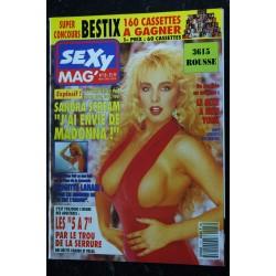 SEXY MAG' 17 RACQUEL DARRIAN KIM HARLOW LA STAR DES TRANSSEXUELLES PORSCHE LYNN TRACI LORDS 1991