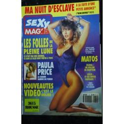 SEXY MAG' 18 COVER SANDRA SCREAM LE SEXE A NEW YORK