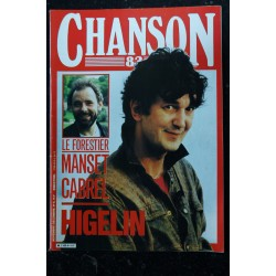 CHANSON 84 9 AVRIL MAI 1984 COVER TELEPHONE ILS REVIENNENT