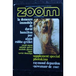 ZOOM MAGAZINE 5 SPECIAL EROTISME DAVID HAMILTON 32 PAGES SARAH MOON R. DEPARDON