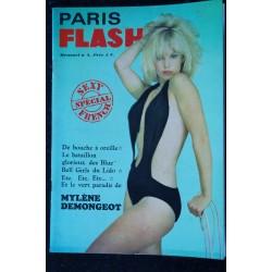 PARIS FLASH N° 4 Mylène DEMONGEOT Blue Bell Girls Tïna BERYLL Barbara Sommers