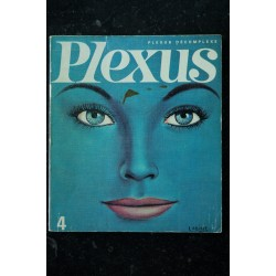 PLEXUS 4 * 1966 * MICHEL SIMON FREDERIC PHOTO BARZILAY TOPOR PLAYBOY HENRY MILLER CHARME