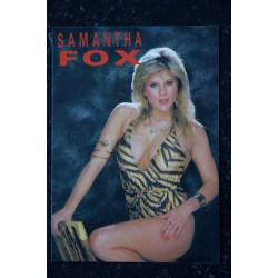 SAMANTHA FOX CP HEROES PUBLISHING COMPAGNY SAMANTHA FOX TOPLESS Carte postale 10,5 x 15