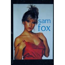 SAMANTHA FOX CP 23 SAMANTHA FOX TOPLESS Carte postale 10,5 x 15