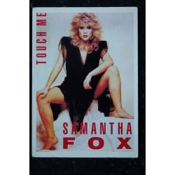 SAMANTHA FOX CP 106 SAMANTHA FOX Carte postale 10,5 x 15