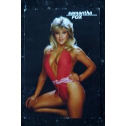 SAMANTHA FOX CP PC238 MINERVA 1987 SAMANTHA FOX TOPLESS Carte postale 10,5 x 15