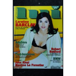 LUI 007 MAI 1996 ROBERT REDFORD COVER CAROLINE BARCLAY TOPLESS PHOTO GILLES GAGNAN INTEGRAL NUDES