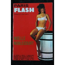 PARIS FLASH N° 1 COLLECTOR NOELLE NOBLECOURT MYLENE DEMONGEOT SOPHIE HARDY 1965