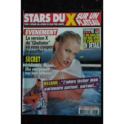 STARS DU X N° 027 TANIA RUSSOF KATSUMI ESTELLE DESANGES SOPHIE EVANS KSANDRA HANNA ILLONA NIKITA DENISE SYDNEE STEELE