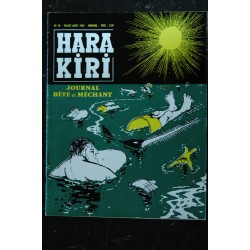 HARA KIRI 026 N° 26 Couverture FRED Mars 1963