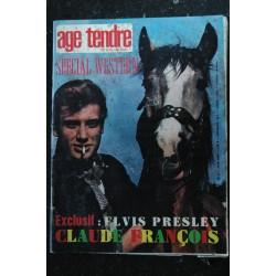age tendre et tête de bois n° 8 * 1963 * Lucky Blondo Dick Rivers Brel Salvador Sheila