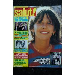 Salut ! 142 1981 SOPHIE MARCEAU ABBA BALAVOINE JOHNNY David BOWIE