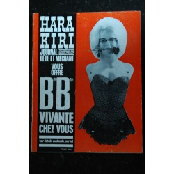 HARA KIRI 033 N° 33 Le prix GONCOURT donne t il le cancer * novembre 1983