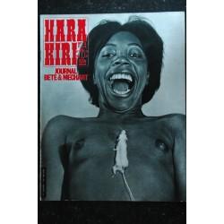 HARA KIRI 037 N° 37 MOEBIUS REISER CABU GEBE FRED * mars 1964