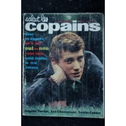 Salut les Copains N° 7 * 02 1963 * Brigitte Bardot Johnny Hallyday James Dean