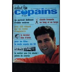 Salut les Copains N° 10 * 05 1963 * Johnny Hallyday SYLVIE SHEILA Richard Anthony Les Spotnicks