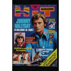 Hit Magazine 65 mai 1977 SYLVIE VARTAN MICK JAGGER JOHNNY MIKE BRANT The Beatles Eddie Cochran Elvis Presley