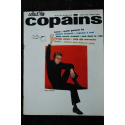 Salut les Copains N° 15 * 10 1963 * COMPLET * FRANCOISE HARDY JAMES DEAN RICHAD ANTHONY BECAUD