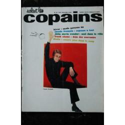 Salut les Copains N° 16 * 11 1963 * COMPLET * CLAUDE FRANCOIS STEVIE WONDER ADAMO SHEILA