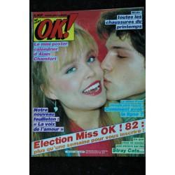 OK ! âge tendre 313 Cover SOPHIE MARCEAU + 2 p YOKO ONO Poster Europe 1 Jean Loup LAFONT