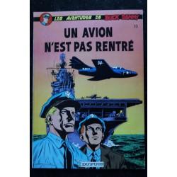 BD LES AVENTURES DE BUCK DANNY 14 PATROUILLE A L'AUBE CHARLIER & HUBINON DUPUIS SOUPLE 1-1980