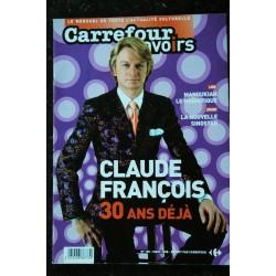 CARREFOUR SAVOIRS 29 NOVEMBRE 2001 COVER MADONNA DECOUVREZ LA GALAXIE MADONNA