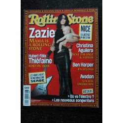 ROLLING STONE 004 COVER MICHAËL YOUN LOU REED ELODIE BOUCHEZ JOHN MALKOVICH INDO NICK TOSCHES SNOOP DOGG