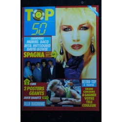 TOP 50 026 N° 26 SEPT 1986 COVER BANANARAMA POSTERS GEANTS MADONNA & PRINCE CHANSONS LIO SAMANTHA FOX