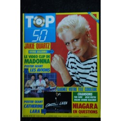 TOP 50 027 1986 SEPTEMBRE COVER SPAGNA BASHUNG MURIEL DACQ RITA MITSOUKO DAVID BOWIE + POSTERS THE CURE JAKIE QUARTZ