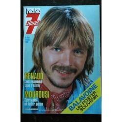 Télé 7 Jours 1339 1986 BALAVOINE Cover + 2 pages