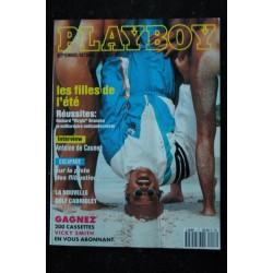 PLAYBOY 017 1993 SEPTEMBRE ANTOINE DE CAUNES JENNIFER LAVOIE SIRENES STEPHEN WAYDA ENTIEREMENT NUES