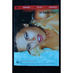 PLAYBOY SUPPLEMENT CALENDRIER 2005 PAR ROBERTO ROCCO 12 FILLES INTEGRAL NUDES