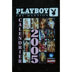 PLAYBOY THE MANSION CALENDRIER 2005 12 PLAYMATES EROTIC CHARM CHIC