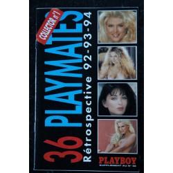 PLAYBOY 36 PLAYMATES Collector n° 1 Rétrospective 92-93-94