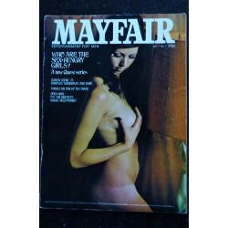MAYFAIR UK Vol 07 N° 12 CHARLOTTE RAMPLING PENNY IRVING SHELAG DOWNING