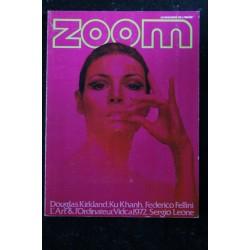 ZOOM MAGAZINE 12 POÏVET FELLINI LEONE KU-KHANH NUDE EROTISME KIRKLAND VELICKOVIC