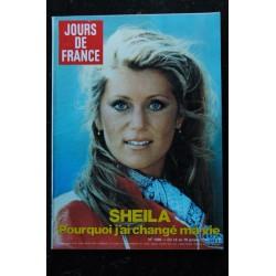 JOUR DE FRANCE 1376 1981 MAI COVER SHEILA MON SEUL AMOUR 7 PAGES