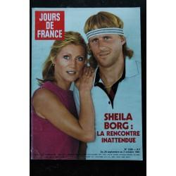 JOURS DE FRANCE 1306 1980 JANVIER COVER SHEILA POURQUOI J'AI CHANGE MA VIE 6 PAGES