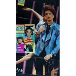 SUPER N° 5 AOUT 1988 COVER MICHAEL JACKSON BROS MADONNA PRINCE RITA MITSOUKO + POSTER GEANT MICHAEL HUTCHENCE INXS