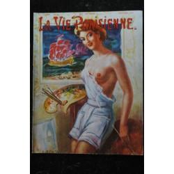 La Vie Parisienne 91 ° ANNEE n° 46 * octobre 1954 * Van Hamme tedy Piaz Elsen Lafont Stov Luc By Jihel