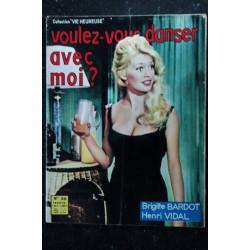 Nous Deux Film n° 50 * février 1959 * RARE COVER BRIGITTE BARDOT + 3 pages