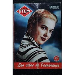 amor Film n° 145 * mai 1957 * COVER Martha HYER Les ailes de l'espérance