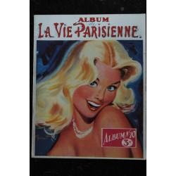 Abum n° 10 de La Vie Parisienne * 1956/57 * Pierre Laurent BRENOT n° 61 64 71 et 80