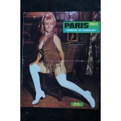 PARIS FLIRT 674 * 1970 * PIN-UP : M. PREVOT * CHARME VINTAGE