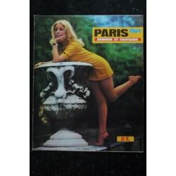 PARIS FLIRT 607 * 1968 * PIN-UP : B. DENANT * CHARME VINTAGE