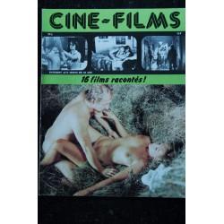 CINE-FILMS n° 5 * 1979 * 16 films racontés Pénélope Lamour Catherine Jourdan Anita Strindberg Sylvie Meyer Erotic
