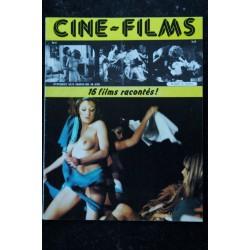 CINE-FILMS n° 8 * 1980 * 16 films racontés Béatrice Harnois Dany Saval Olga Georges-Picot Brigitte Bardot Nudes