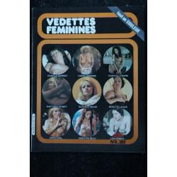 Vedettes Féminines Incognito n° 3 * 1981 * Michele PERELLO Elsa MARTINELLI Karin GAMBIER * ALL NUDE